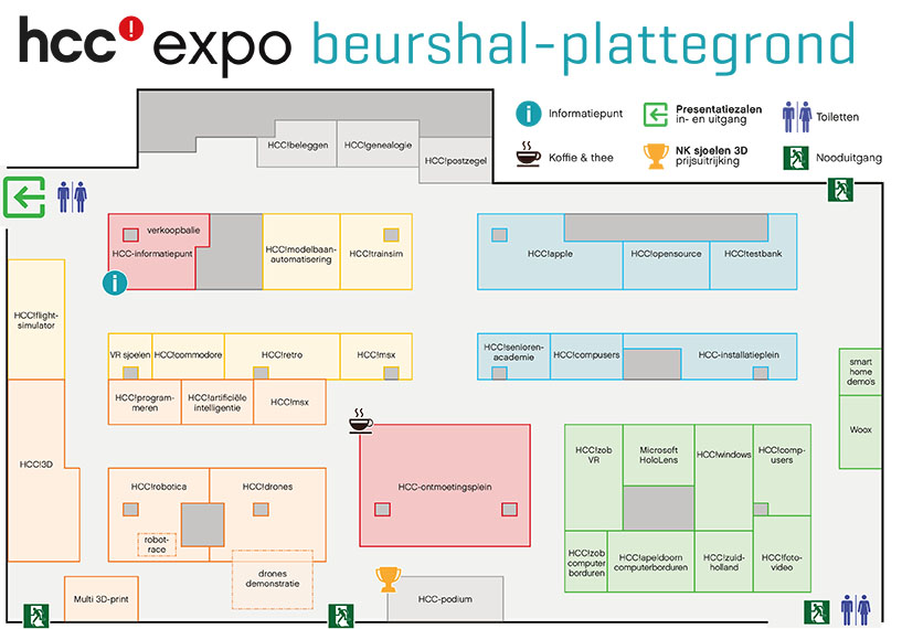 Plattegrond HCCexpo 2019